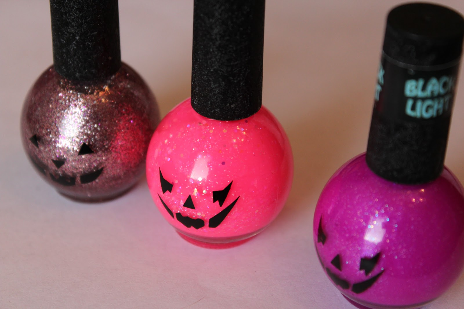 Rite Aid Blue Cross Jack-O-Lantern Polishes – Fall 2012 – yukieloves.com