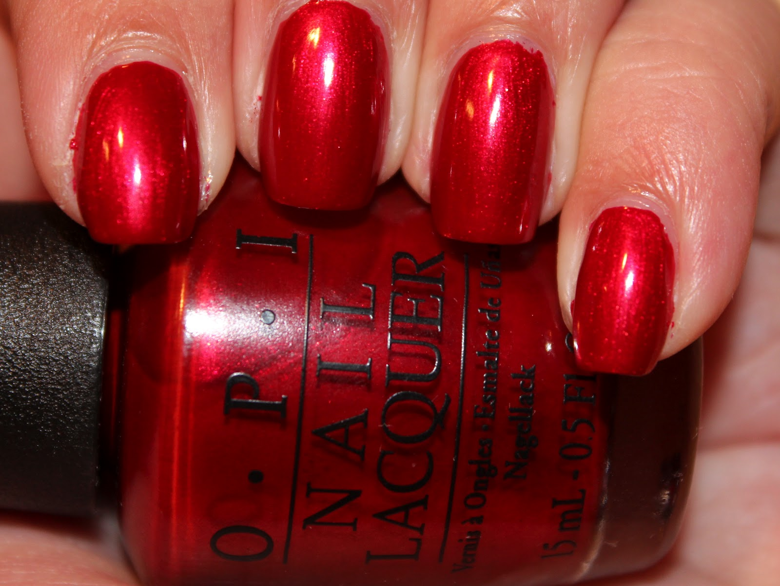 NOTW: OPI Danke-Shiny Red – yukieloves.com