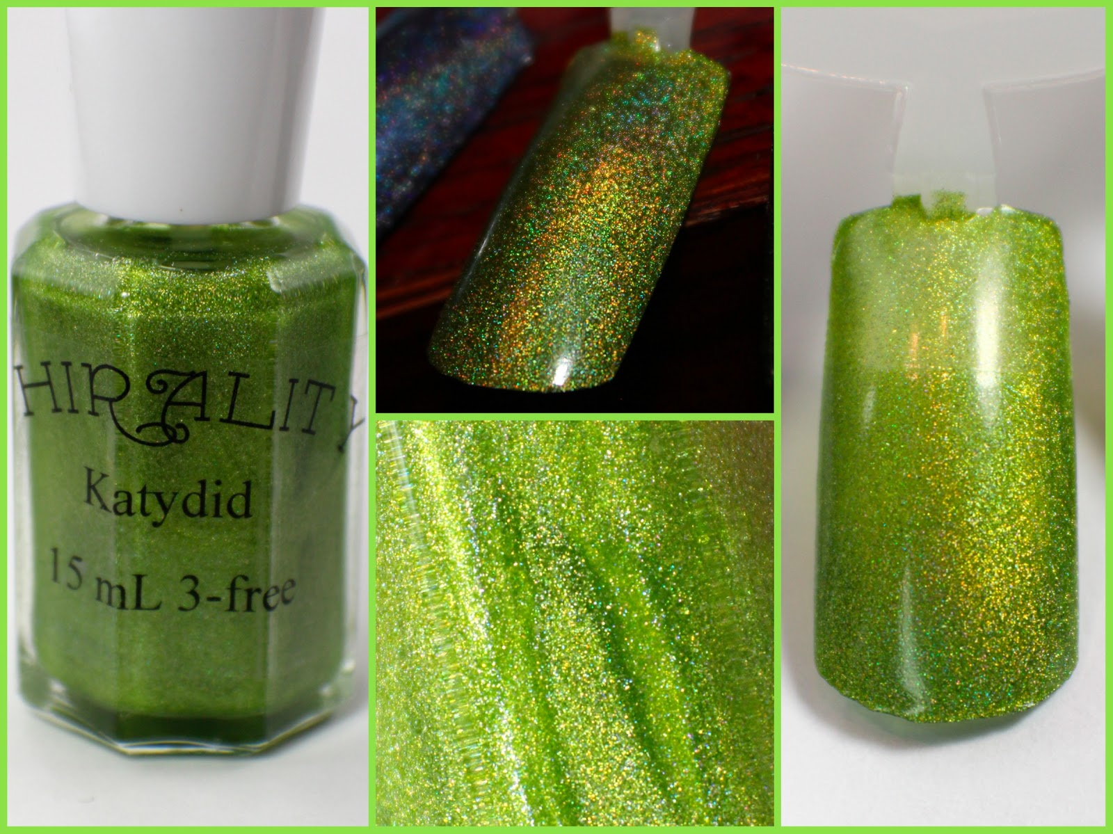 Chirality Polish Swatches: Holographic Polishes – Apollonia, Cu2+ ...