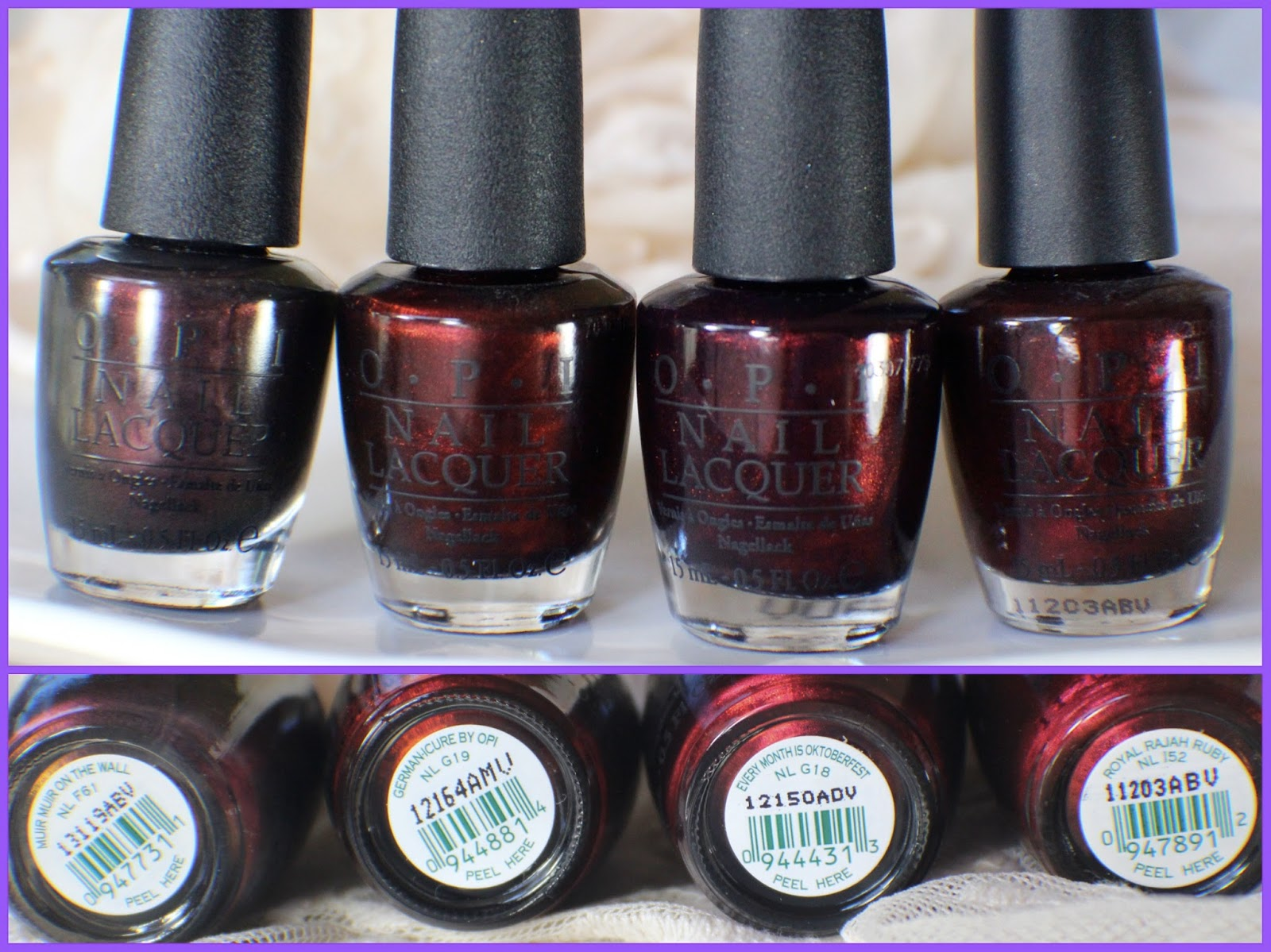OPI Muir Muir On The Wall – Comparisons! – yukieloves.com